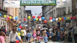 Święto ulicy Józefa w Krakowie